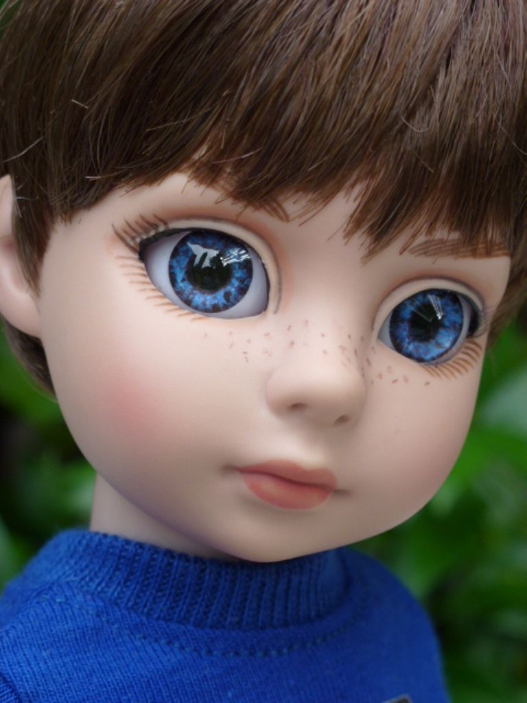 Billy Light Brown Hair Blue Eyes Customized By Dd S Doll