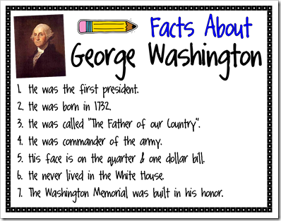 Facts About Abraham Lincoln And George Washington