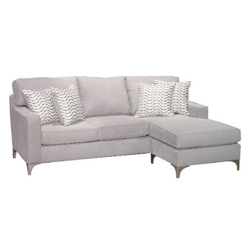 Contemporary Gray Sofa Chaise Tessa Chaise Sofa Grey Chaise Sofa Gray Sofa
