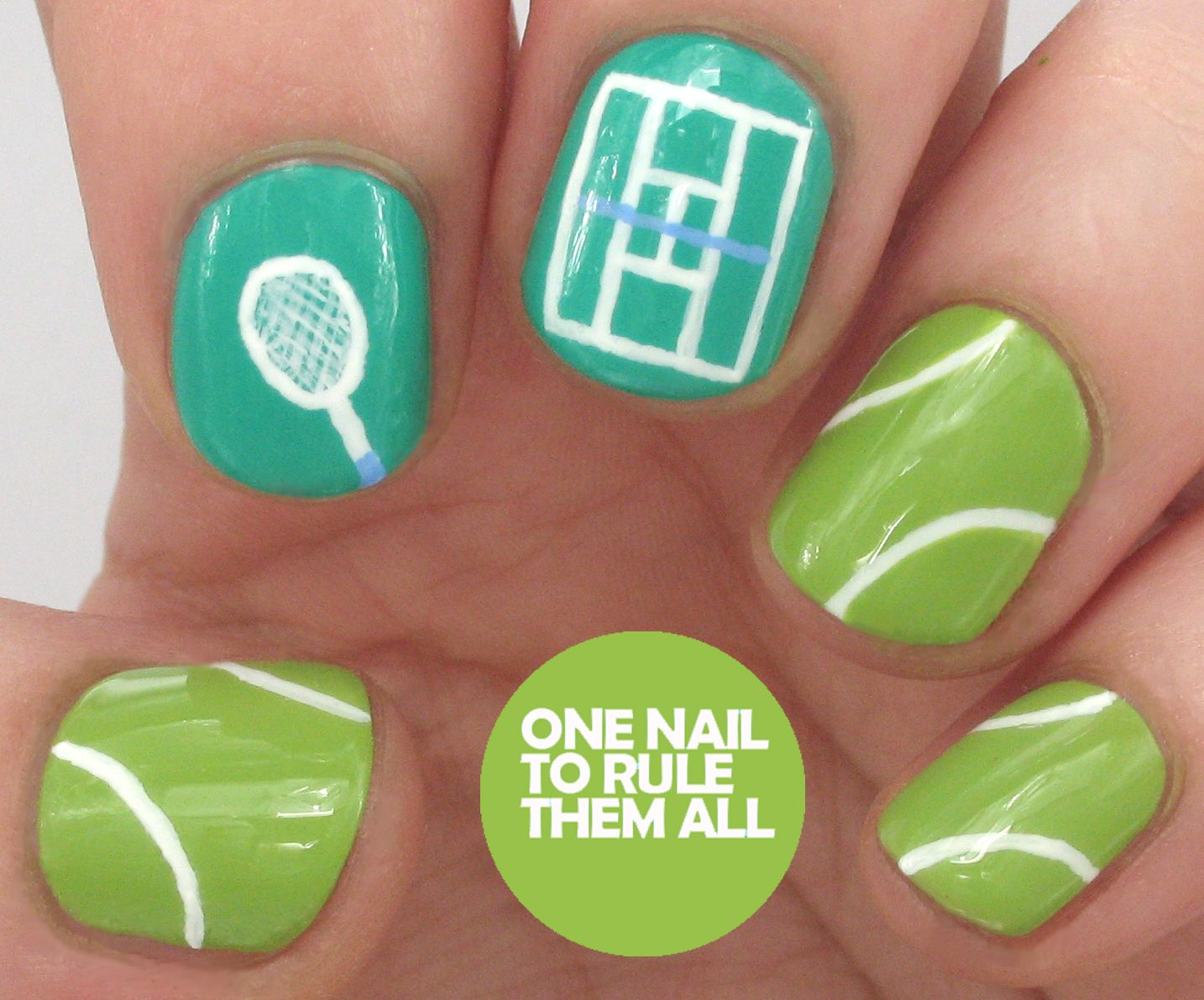 Tennis for your nails tennis art pinterest tennis nails and wimbledon nail art for barry m tutorial prinsesfo Image collections