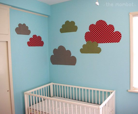 starched fabric wall decals