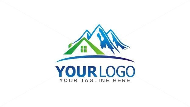 Home Mountain Logo Ready Made Logo Designs