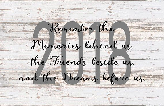 Senior 2018 Memories behind Us Friends beside us Dreams before us Wood Sign Canvas Wall Art Graduation Party Decor Guest Book Canvas