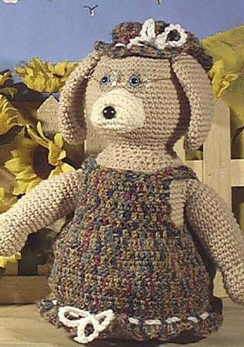 Granny Dog Amigurumi Doll ~ Free Download Pattern | Amigurimis ...
