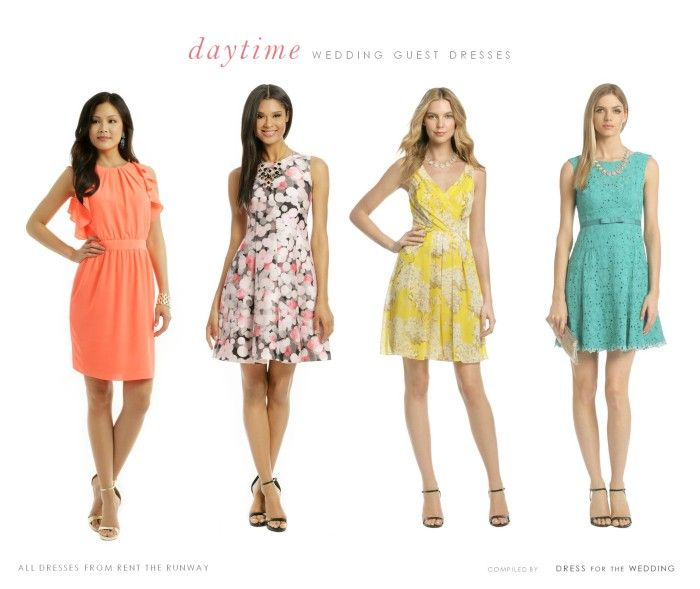 Summer Wedding Guest Dresses for Rent | Wedding guest dresses ...