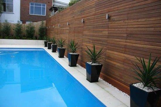 Pin By Blake A Wood On Garden Patio Backyard Pool Landscaping Modern Landscaping Pool Landscape Design