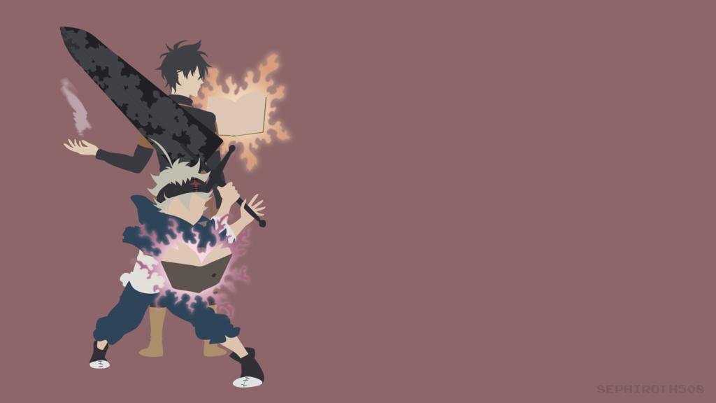 Yuno And Asta Black Clover Yuno Anime Black Clover Anime Anime