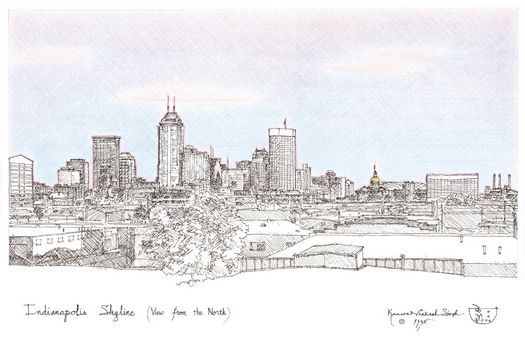 skyline of indianapolis - Google Search