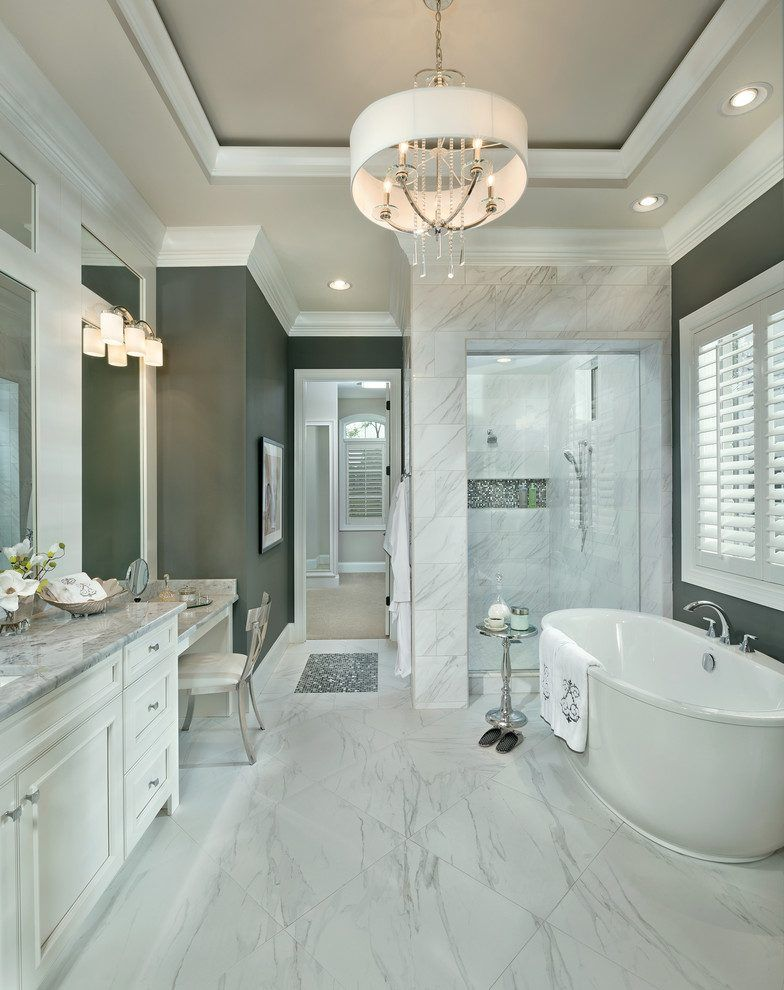 Cincinnati Carrera Marble Rooms Bathroom Transitional With Recessed Mesmerizing Bathroom Vanities Cincinnati