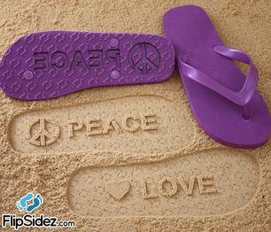 766553f6d781c4 Flip Sidez Custom Sand Imprint Flip Flops   Sandals