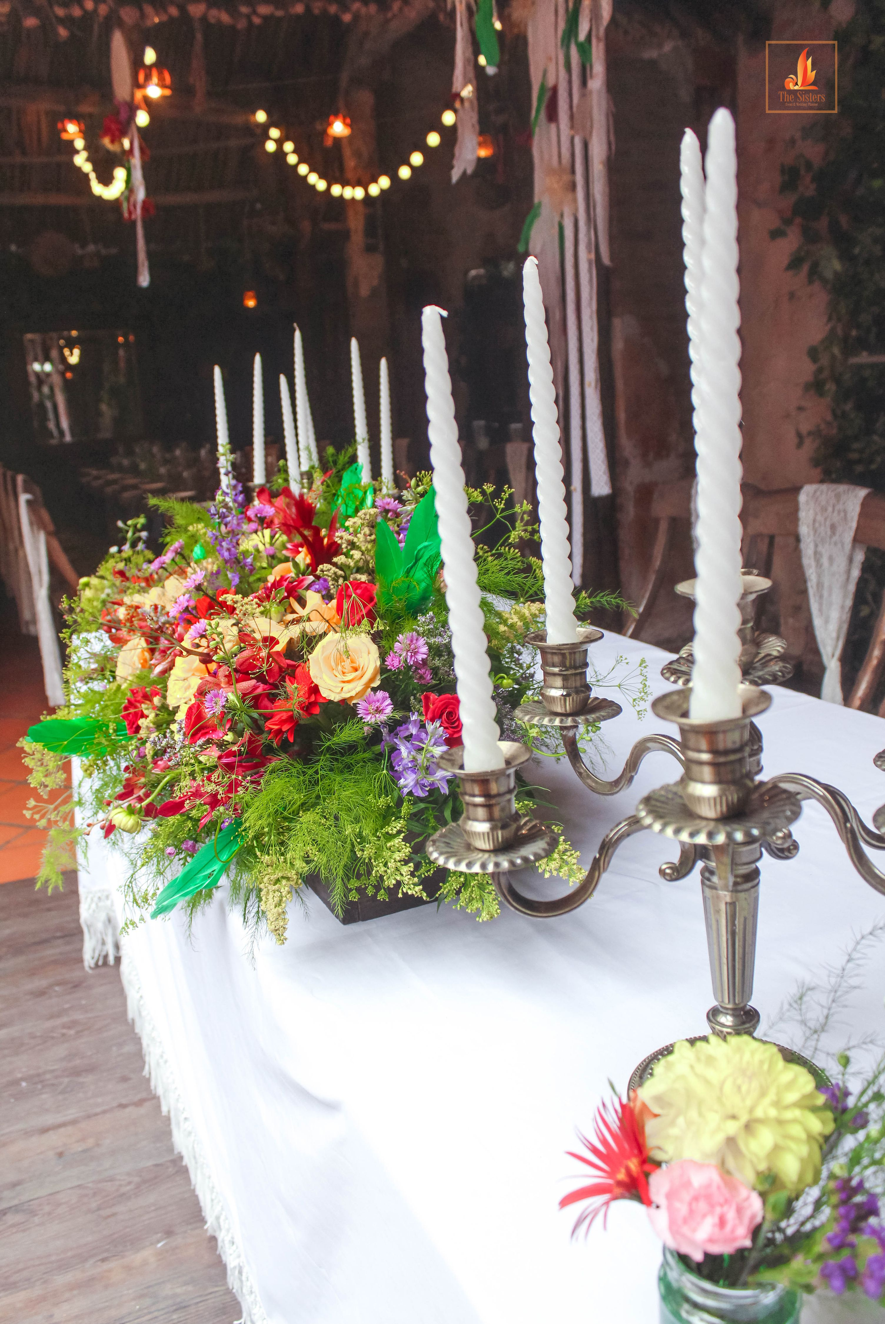 Boho wedding the sisters wedding planner team from vietnam contact the sisters wedding decoration team kwai junglespirit Images