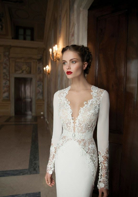 AMORE (Beauty + Fashion): ❣ WEDDING BELL WEDNESDAY ❣ - BERTA Bridal Winter 2014 Collection [Part 2]