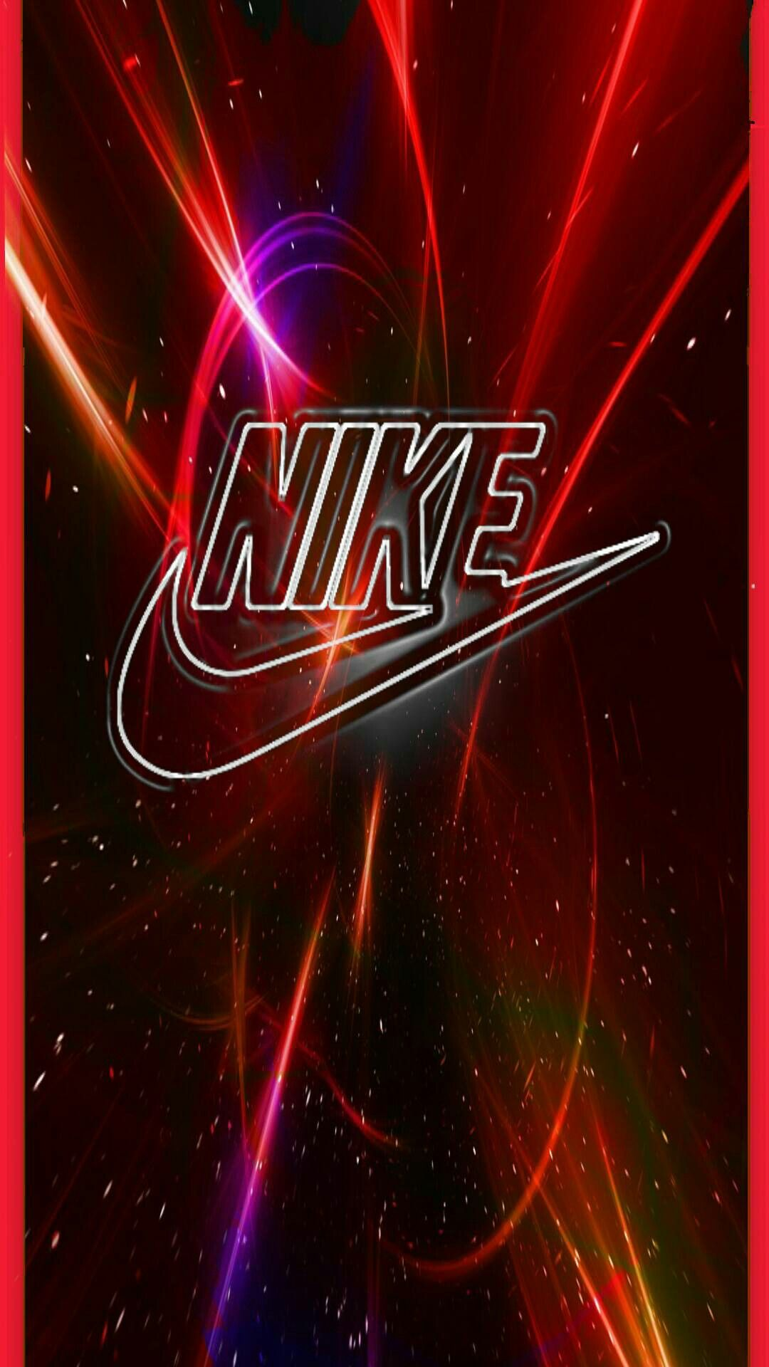 Nike Red Picture in 2020 Hd wallpaper iphone, Nike logo