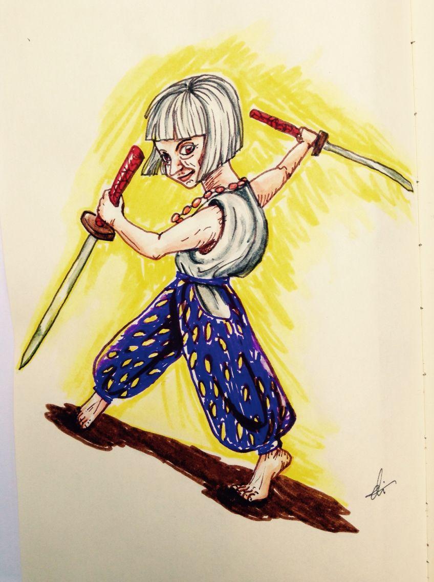 Sword combat