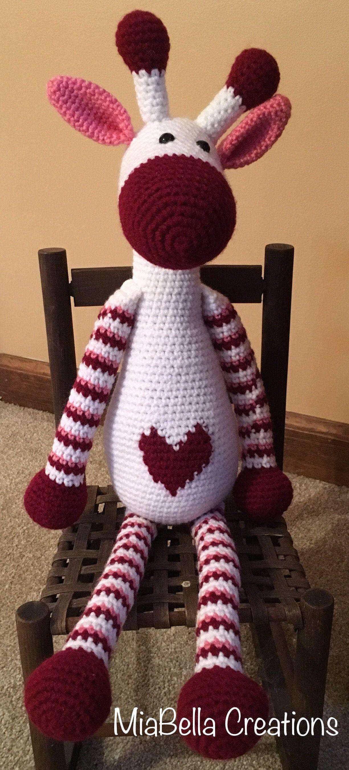 Hearty Giraffe amigurumi pattern | Amigurumi patrones gratis ... | 2701x1225