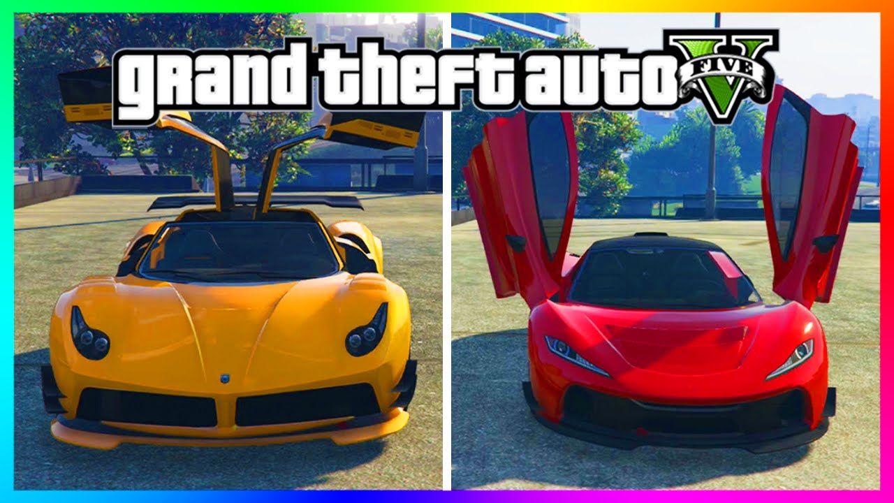 Gta 5 Dlc Update Best Ill Gotten Gains Super Car Progen T20 Vs Pegassi Osiris Gta 5 Dlc Super Cars Grand Theft Auto Gta