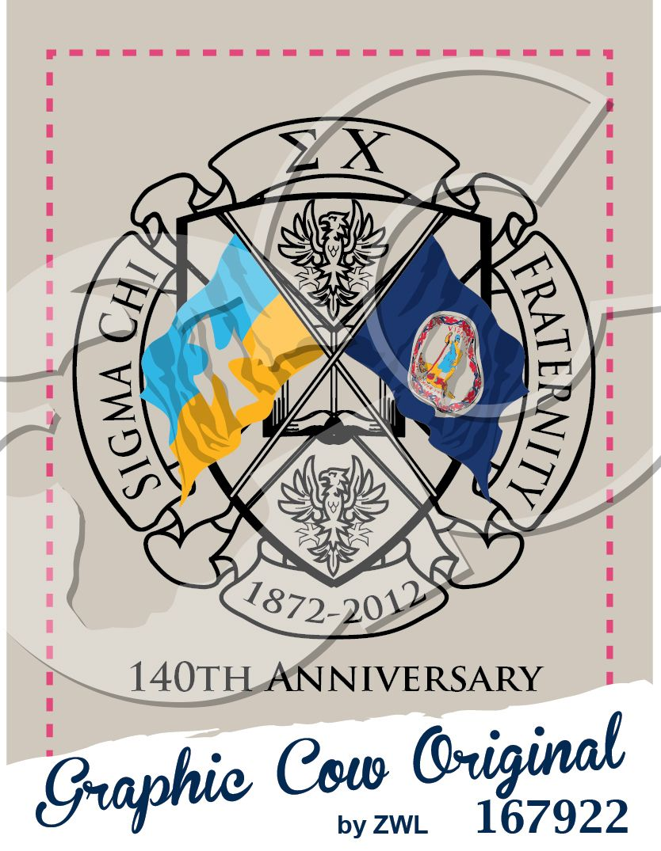 sigma chi fraternity flag fraternitypr grafcow