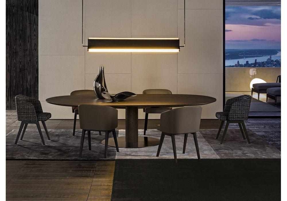 Bellagio Dining Wood Minotti Table - Milia Shop | Restaurant 餐厅 ...