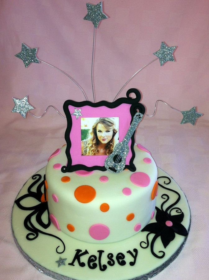 Taylor Swift Birthday Cake Taylor Swift Cake Inspired By A Cake By