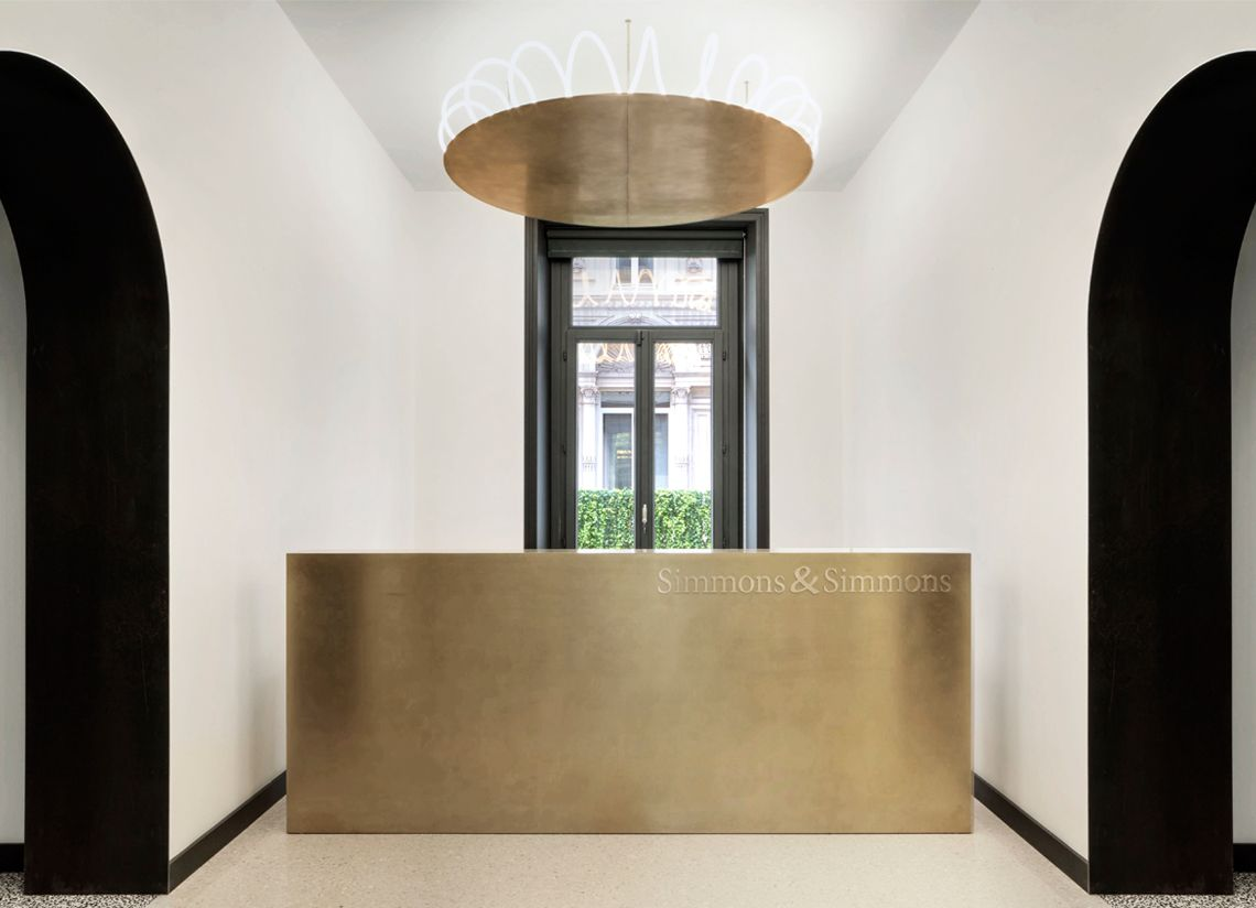 Simmons and simmons office milano 2016 cls architetti for Interior designer milano