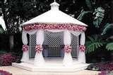 Decorating gazebos and arches for a wedding | Wedding Decorator Blog