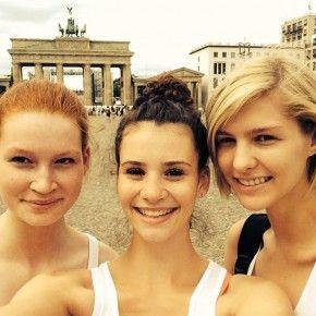 Gntm Betty Taube Mietet Sich Eine Familie Gntm Topmodel Germanys Next Topmodel