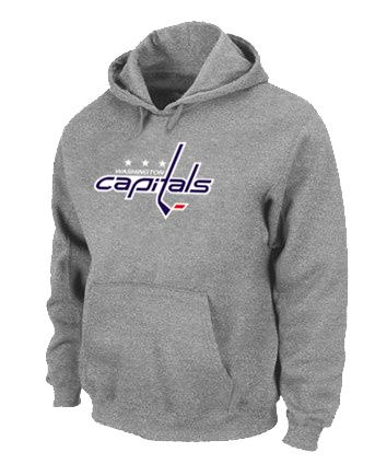 NHL Washington Capitals Big & Tall Logo Pullover Hoodie - Grey [Washington  Capitals Hooded Sweatshirt