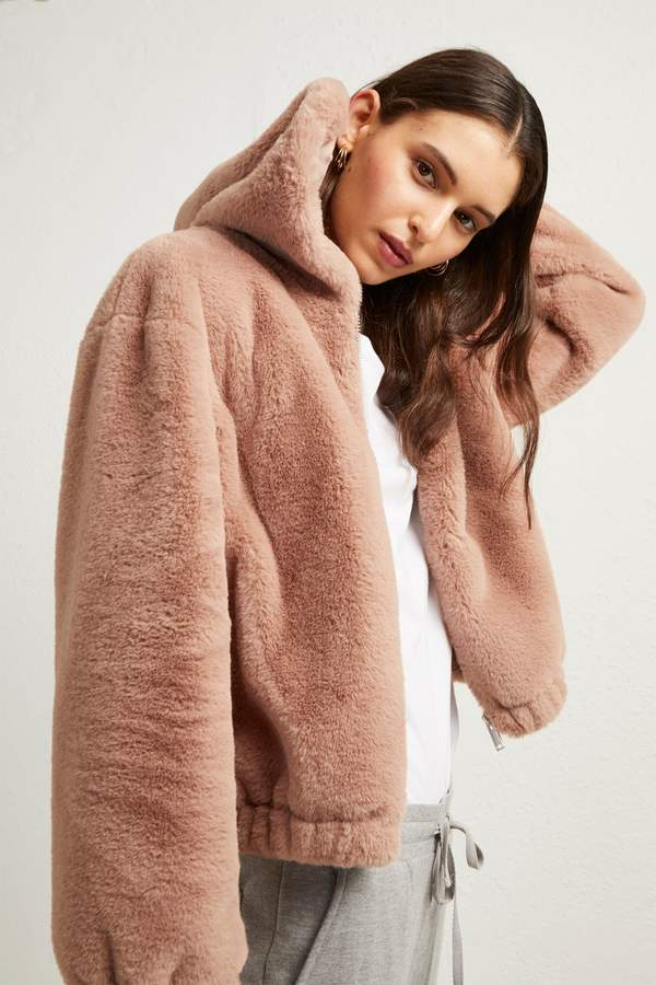 b1ffe9bb1 Arabella Faux Fur Hooded Jacket in 2019 | •Clothes• | Faux fur ...