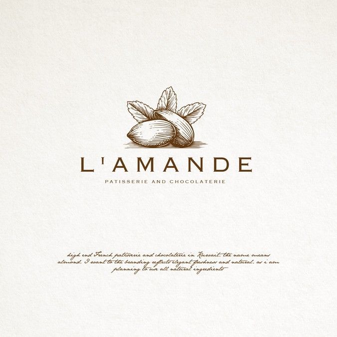 logo design for a french patisserie