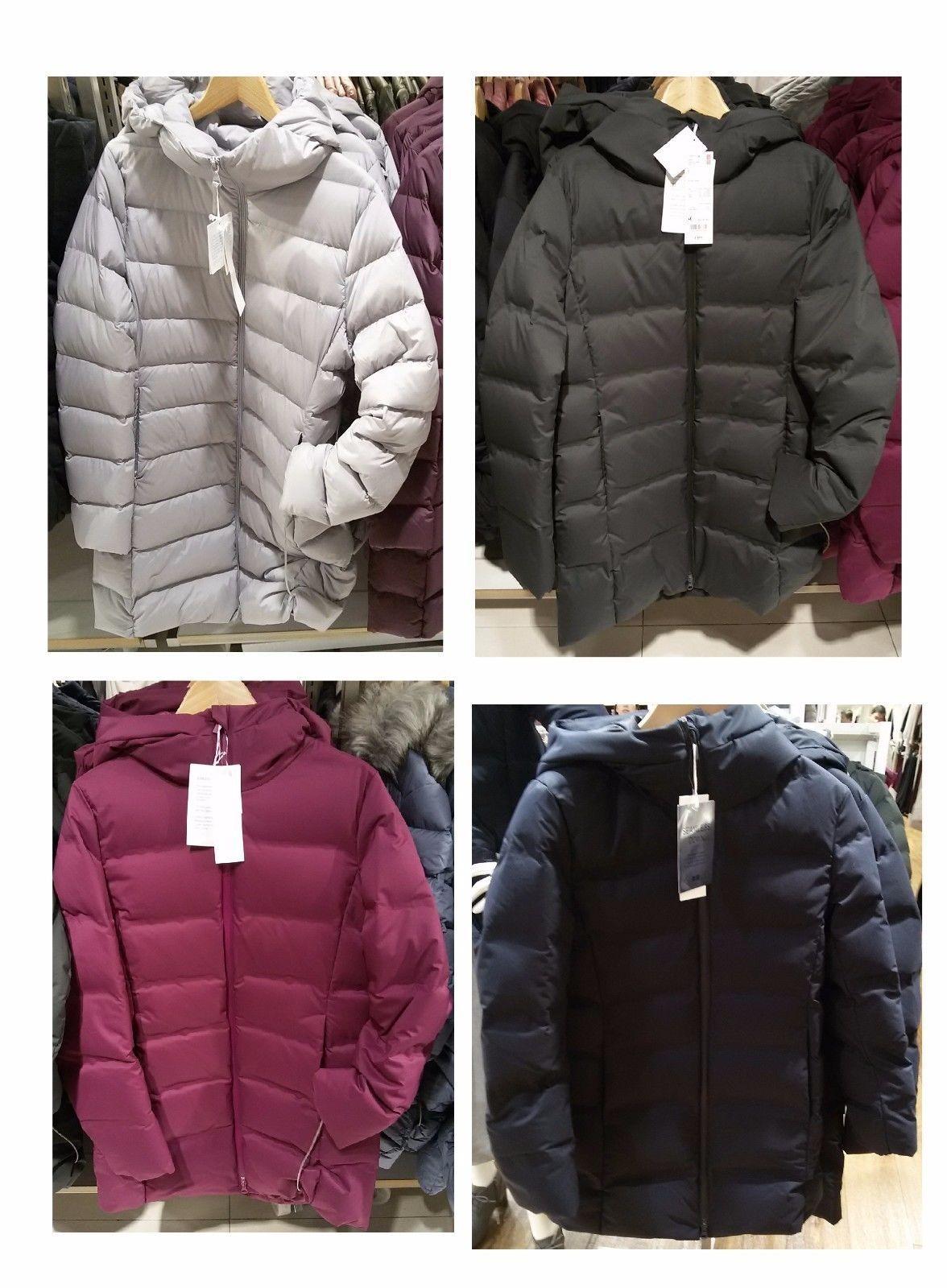 60120495f Details about 2016 UNIQLO WOMEN Seamless Down Short Coat 5 Colors ...