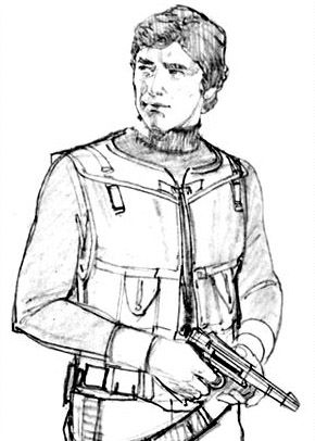 Image result for Han Solo concept art A New hope
