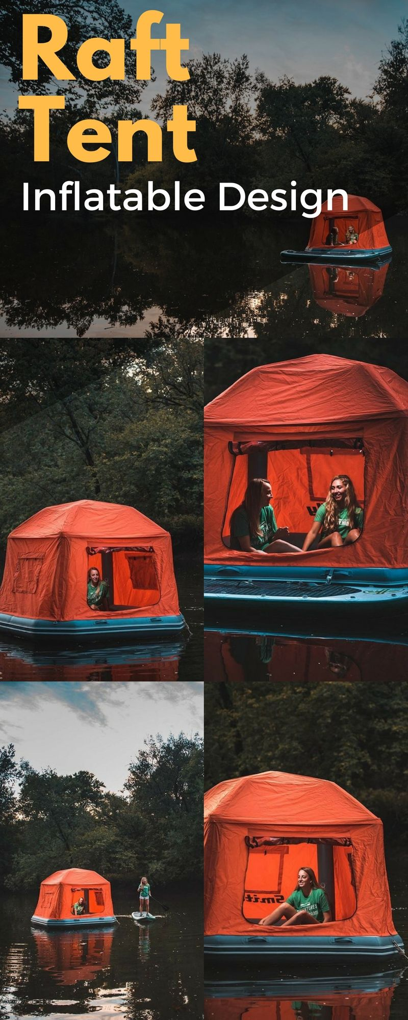 SmithFly Shoal Inflatable Raft Tent : tent with inflatable poles - memphite.com
