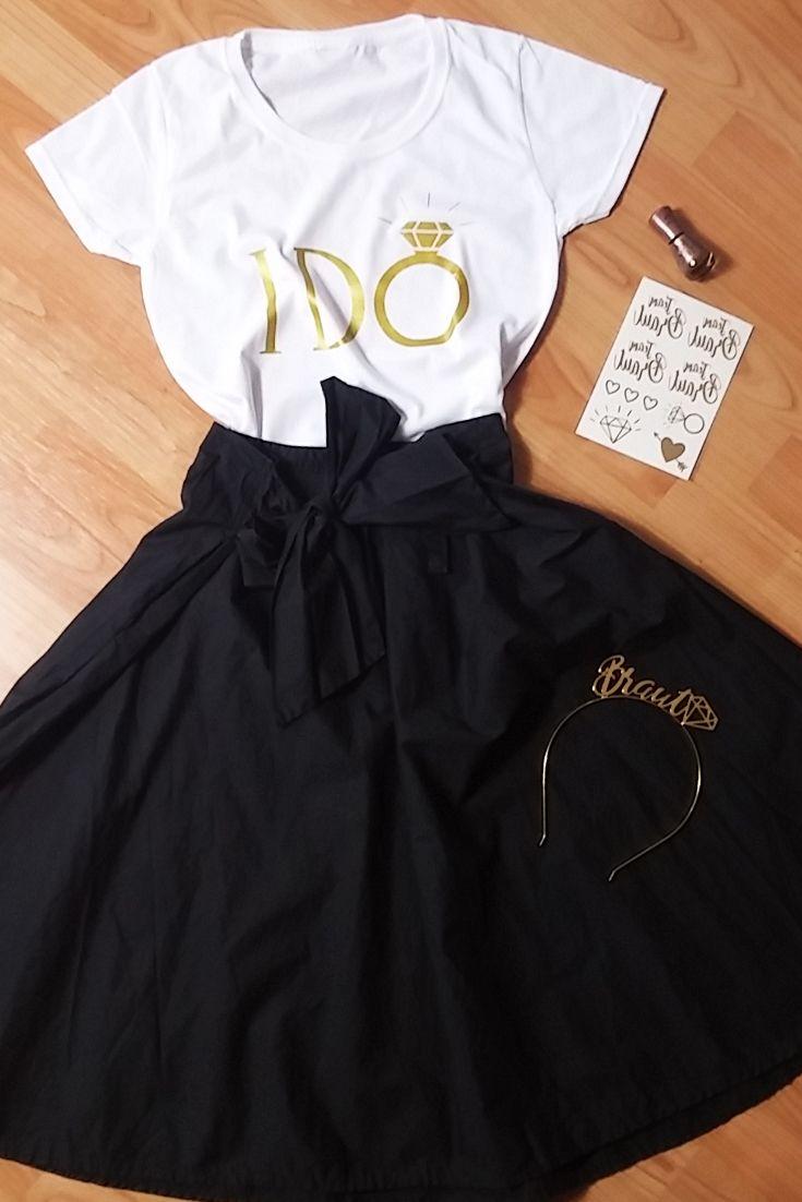 TShirt I do  Wei  JGA Braut Accessoires in 2019