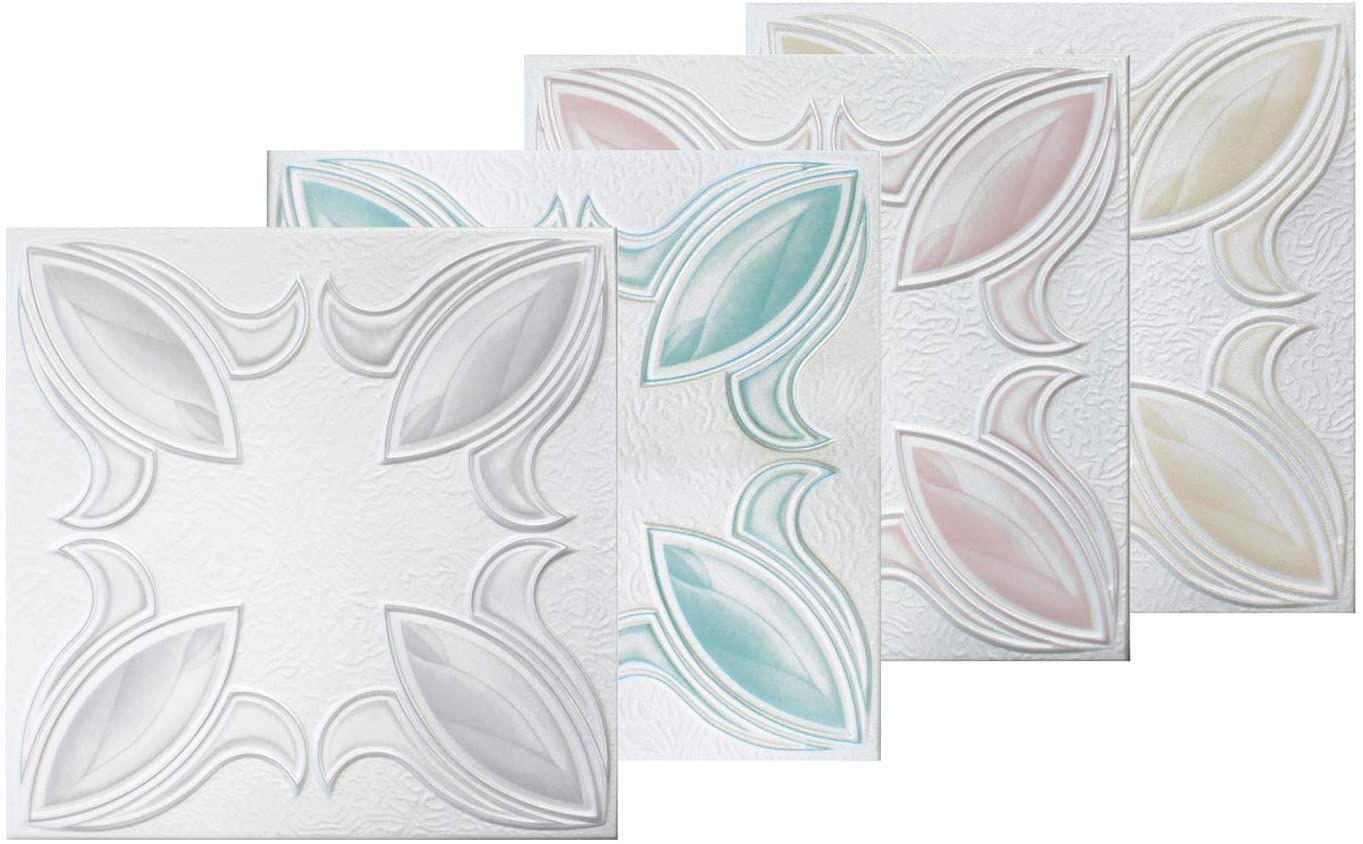 1 Qm Deckenplatten Xps Formfest Hexim 50x50cm Nr 57 Tb In 2020 Deckenplatten Basteln Decke