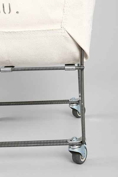 Steele Canvas Elevated Laundry Hamper - Urban Outfitters