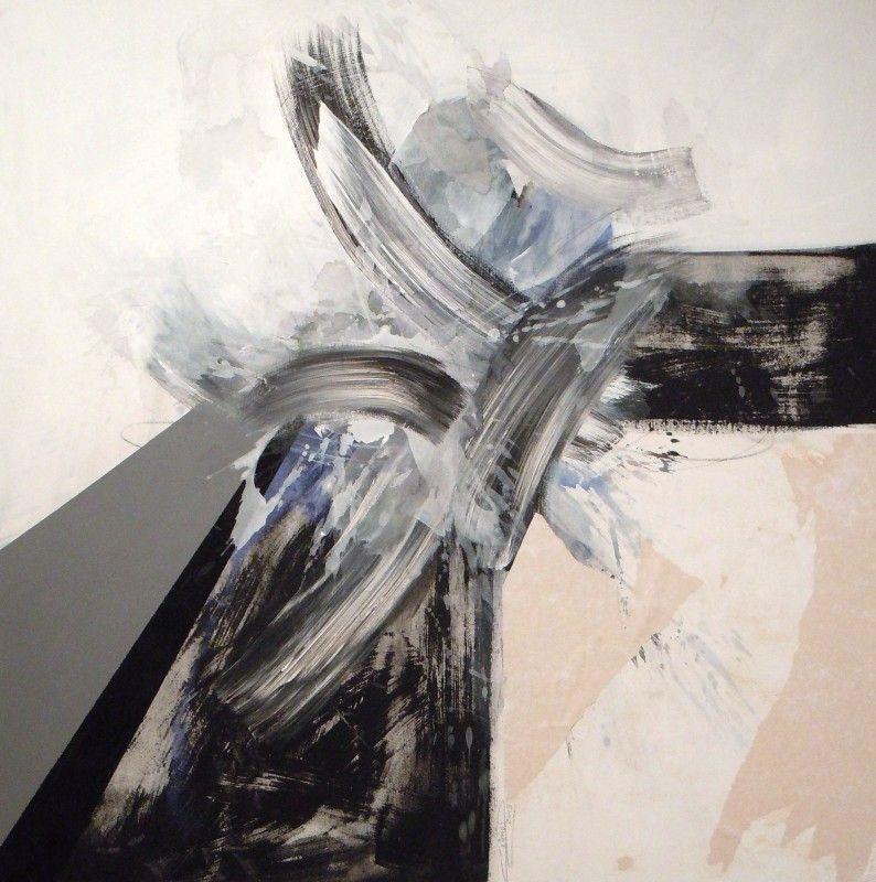 Solitude - acrylique sur toile (100x100cm) 2014
