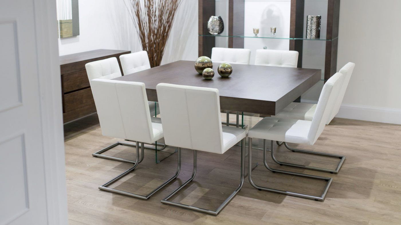 Charming 8 Seater Square Dining Room