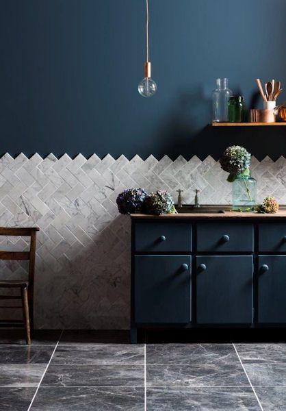 #laatat #keittiö #keittiönlaatat #keittiönvälitila www.decorkylpyhuoneet.fi