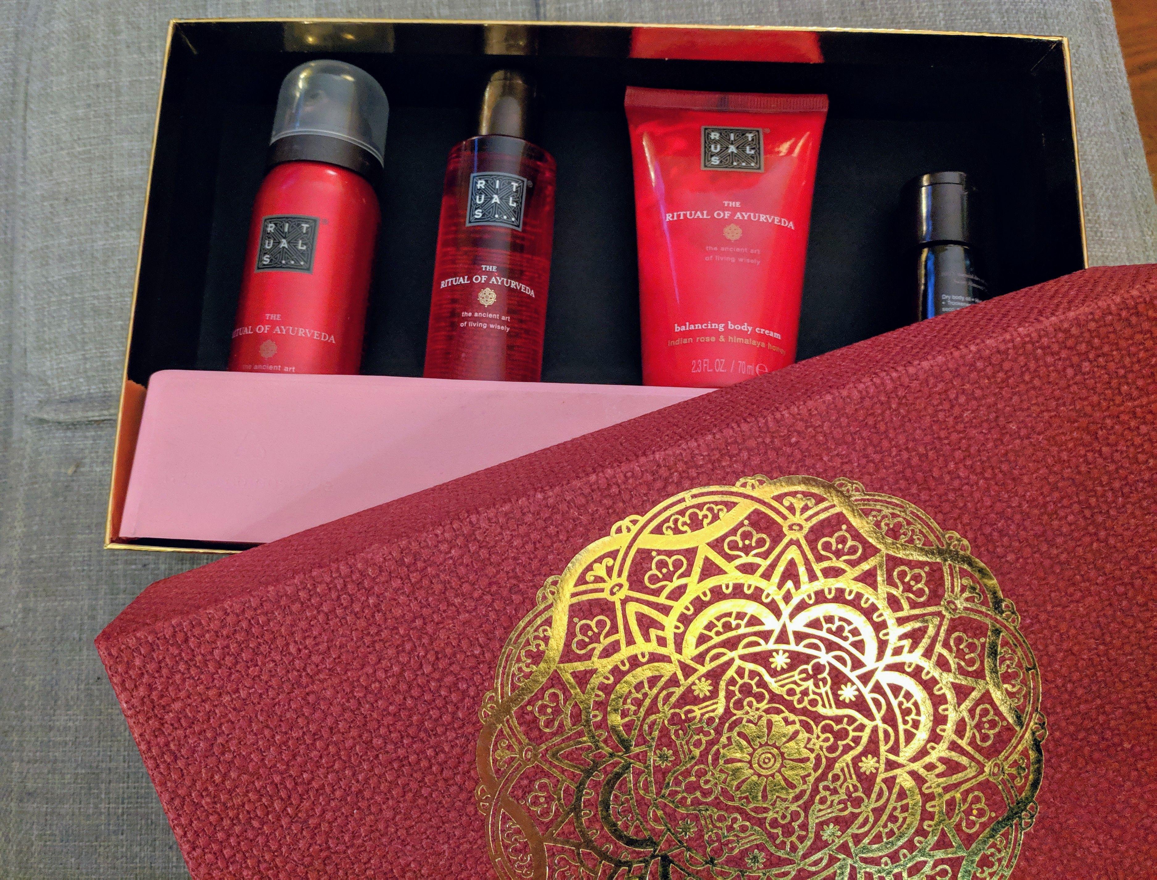 The Ritual Of Ayurveda Balancing Treat Treat Gift Fragrance Gift Set Gift Set