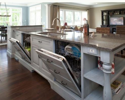 dishwasher cabinet door idea
