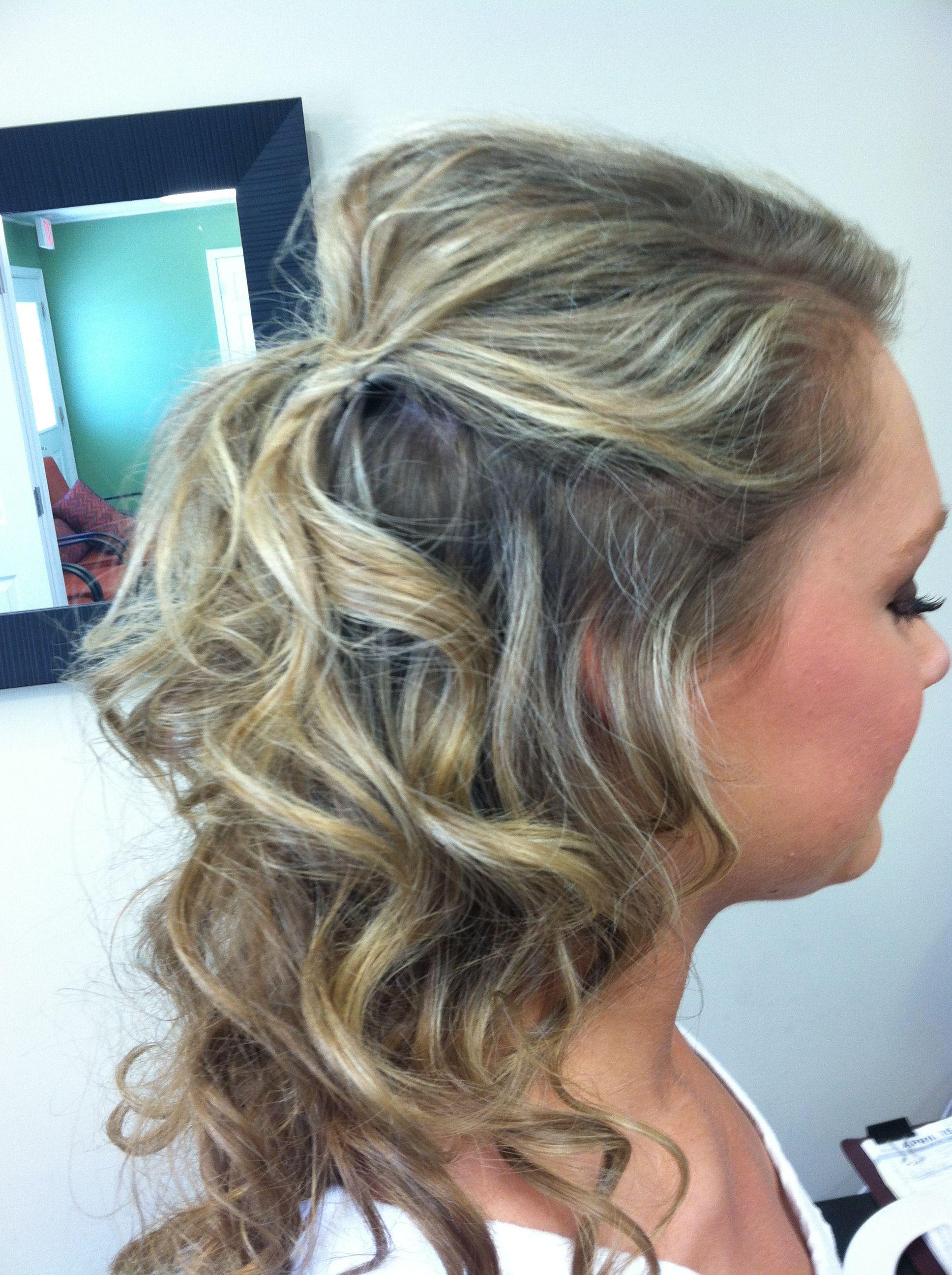 Prom hair | Hair, Hair styles, Prom hair