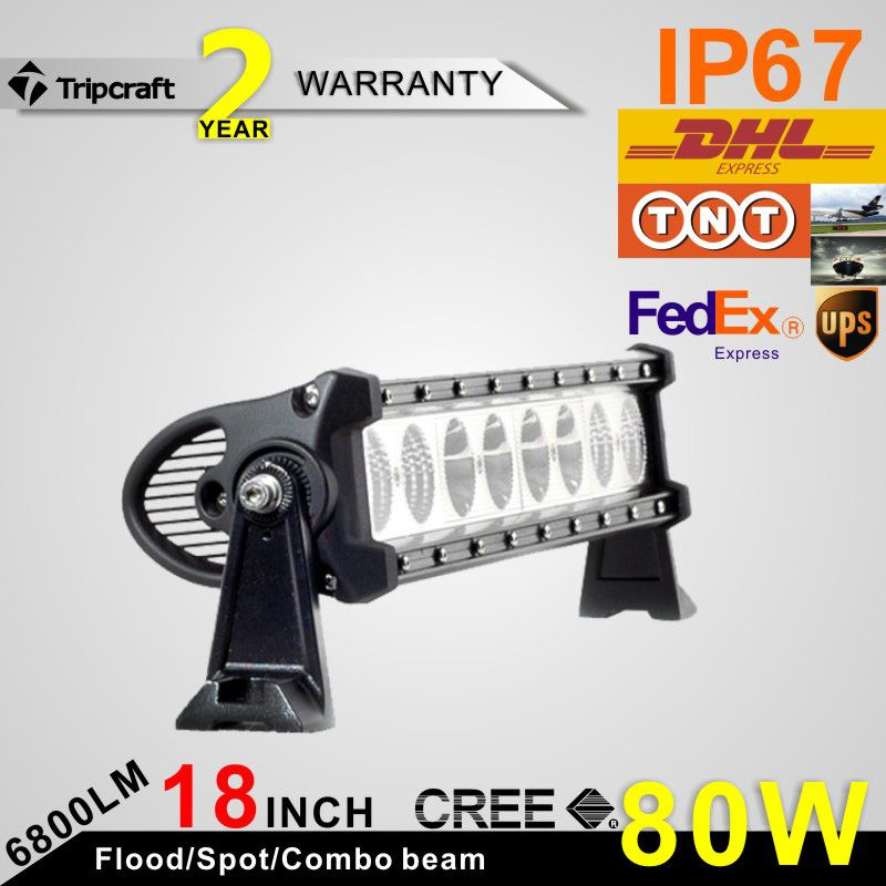 18 inch 80w crees led light bar high power off road work lights 18 inch 80w crees led light bar high power off road work lights driving aloadofball Image collections