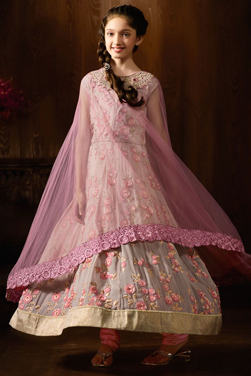 Baby Pink Heavy designer Party Wear Anarkali Suit #babypink #pink ...