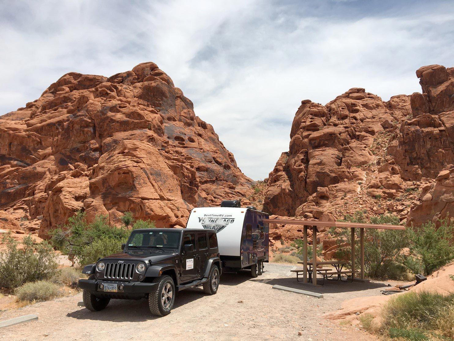 J Jeep Wrangler + Winnie Drop 170S Best Time RV 1 RV