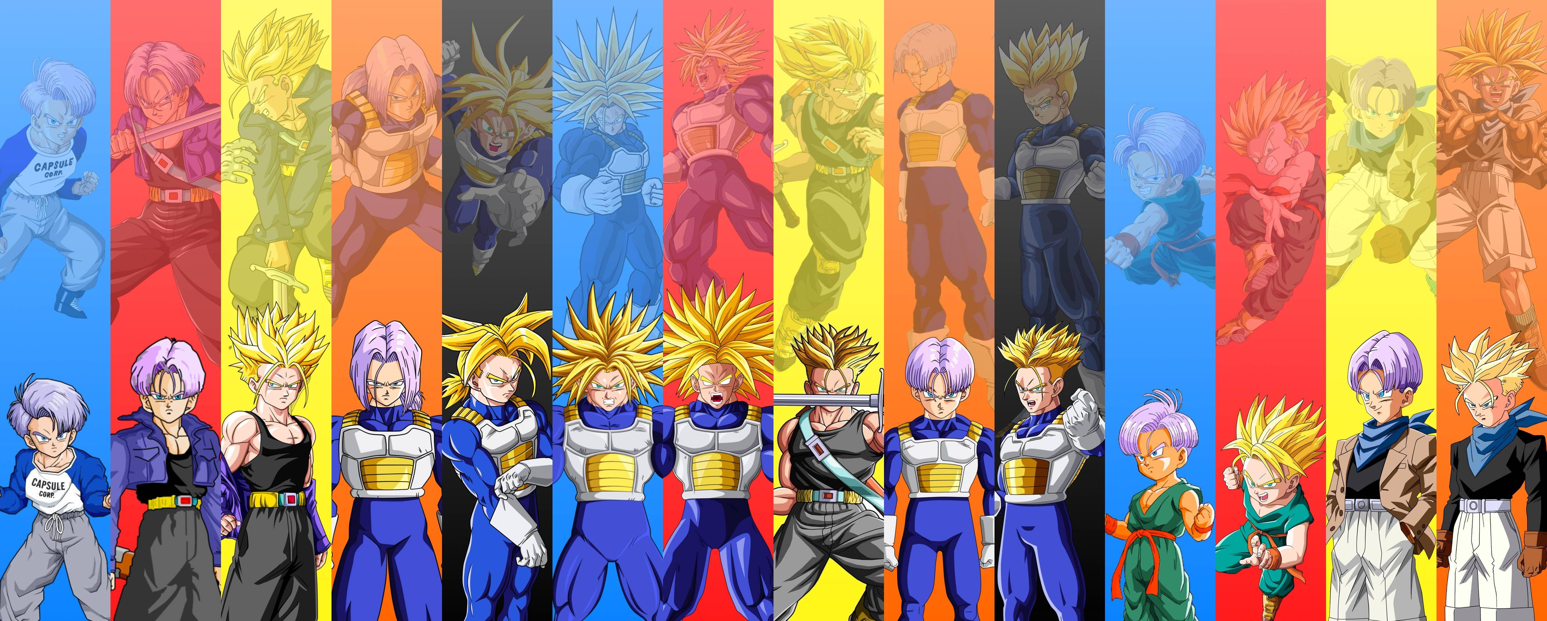 Dbz Dual Screen Wallpapers: Dragon Ball, Dragon Ball Z Y Dragon Ball Gt