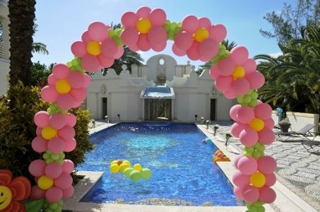Party City Balloon Arch Kit Party Rental Flowers Balloon Arch Balloon Decorations Baloon Decorations Party City Balloons