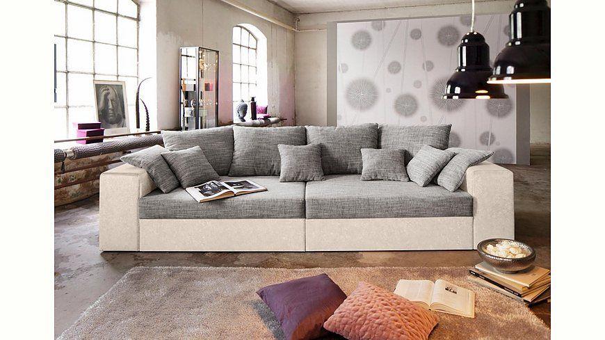Big-Sofa, wahlweise in XL oder XXL Jetzt bestellen unter   - wohnzimmer couch günstig