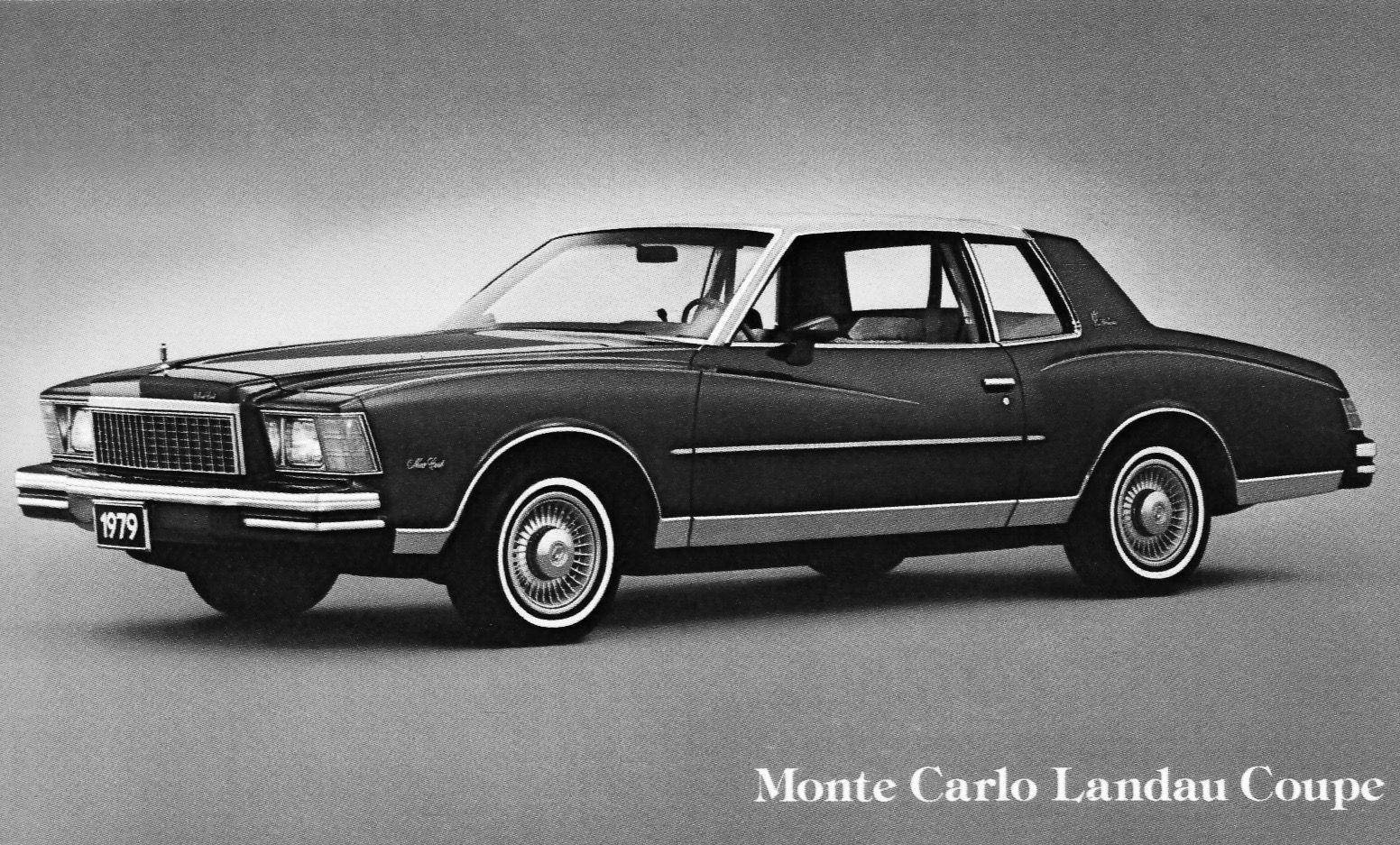 1979 Monte Carlo Landau Coupe Chevrolet Monte Carlo Chevrolet