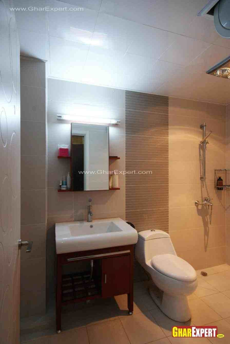 simple bathroom designs for indian homes   Small bathroom ... on Simple Bathroom Designs For Small Spaces  id=75714