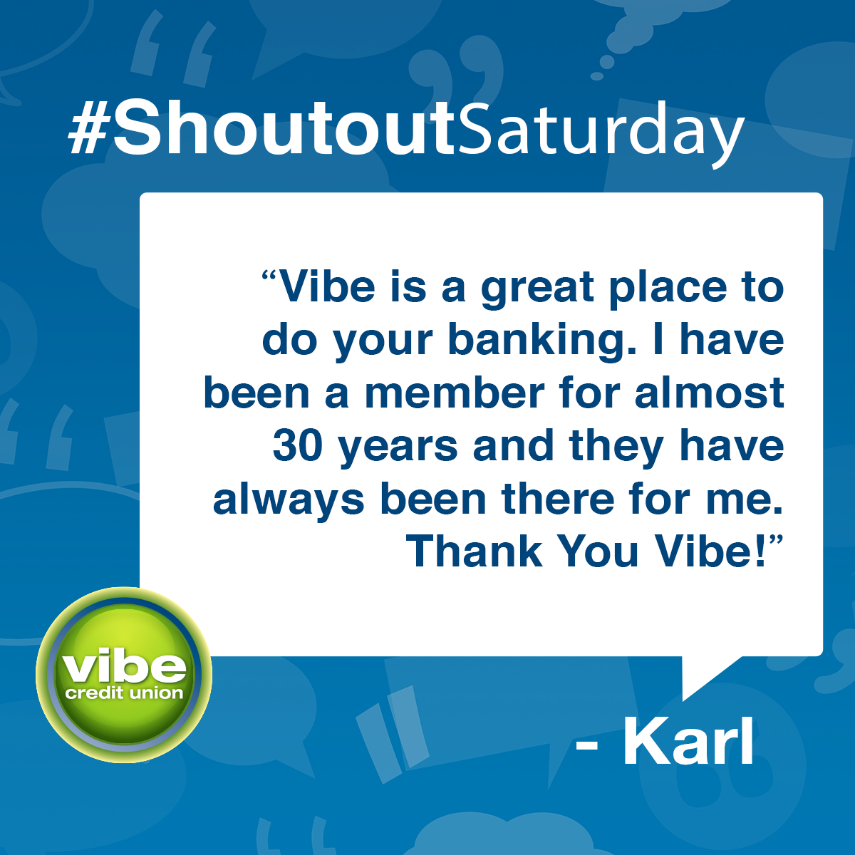 Shoutoutsaturday In 2020 Credit Union Vibes Personal Loans